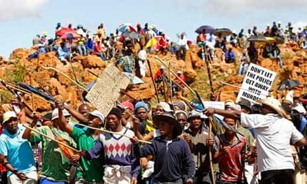 Marikana mine massacre
