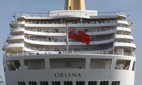Norovirus outbreak Oriana plague ship