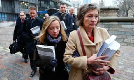 Geraldine Finucane, the widow of murdered Belfast solicitor Pat Finucane,