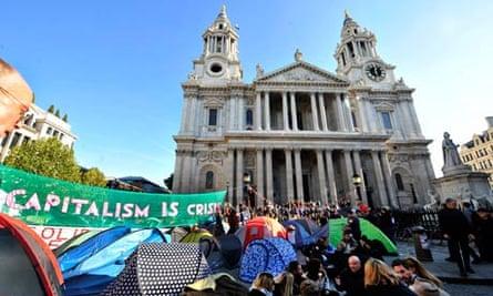 St Paul's Occupy camp
