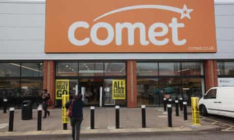 Comet store in Purley, Croydon