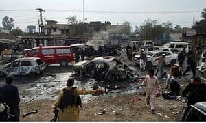 Pakistan market attack