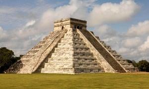 Chichen Itza, Mayan pyramid