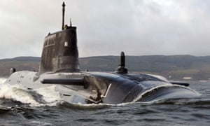 Astute arrives at Faslane for the first time