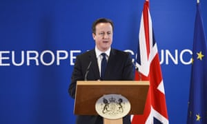 David Cameron European Union
