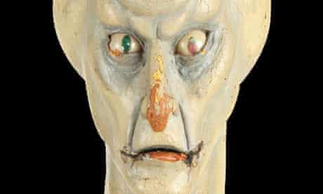 Balok original puppet head from Star Trek