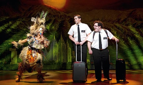 The Book Of Mormon: not for the easily offended   Stage