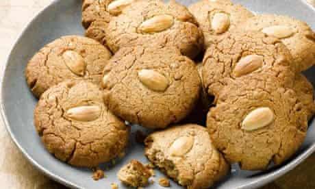 Dan Lepard's almond butter cookies
