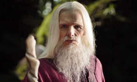 Colin Morgan in the last episode of Merlin.