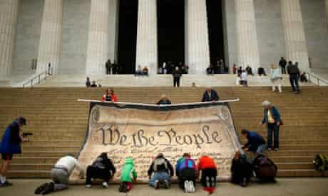 Activists Protest Supreme Court Decision On Corporate Political Spending