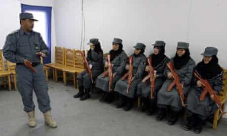 Afghan police graduation ceremony in Herat
