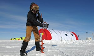 British Antarctic Survey scientists