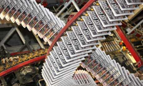 Trinity Mirror Newspaper Printing Presses