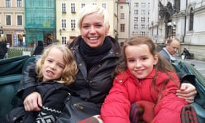 Michaela Osbourne and children