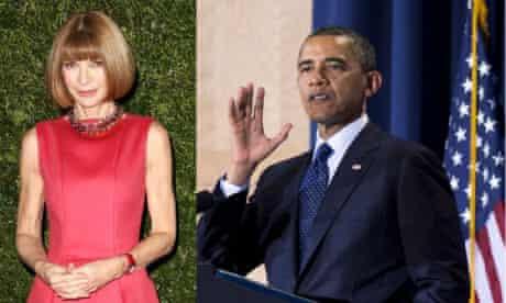 Anna Wintour and Obama