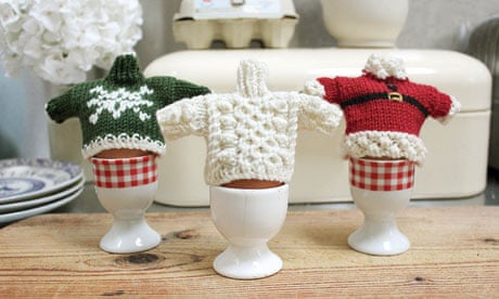 Egg Cosy Knitting Pattern Mini Jumpers Life And Style The Guardian