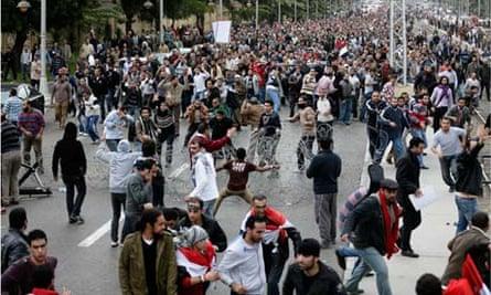 Mohamed Morsi's supporters
