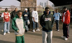 Tinchy Stryder and Ruff Sqwad in 2005.