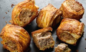Dan Lepard: Stilton crust sausage rolls