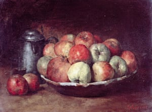 Gustave Courbet's Still Life With Apples and a Pomegranate