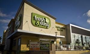 Fresh & Easy Tesco America