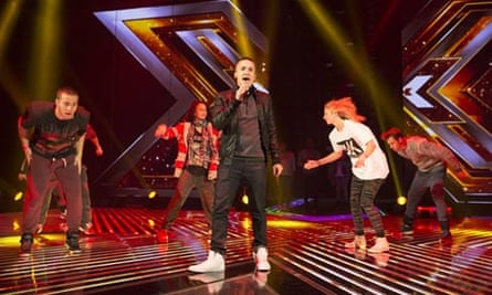 Jahmene Douglas is the favourite to win this year's X Factor but the number watching at home is down