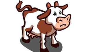 FarmVille cow