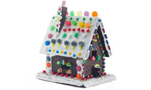 Too scary for you? A gingerbread house.