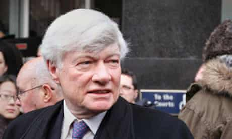 Human rights lawyer Geoffrey Robertson