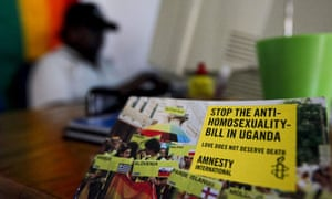 Activists at the Freedom and Roam Uganda offices