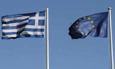 Greek EU flag