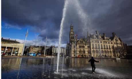 Bradford City Park water feature