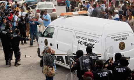 Mexico prison gang fight, Monterrey