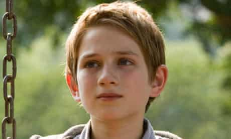 Thomas Horn as Oskar Schell in Extremely Loud and Incredibly Close.