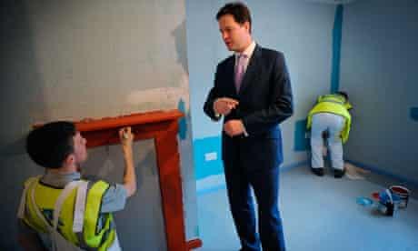 Clegg meets apprentices