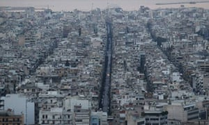 Athens, Greece, during bailout talks