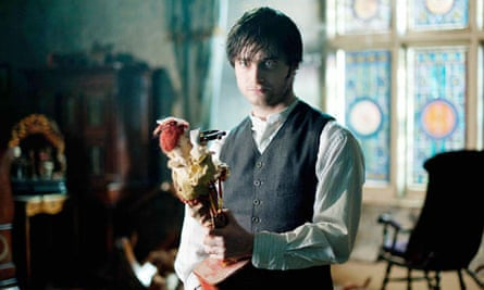 Holding on … Daniel Radcliffe in The Woman in Black