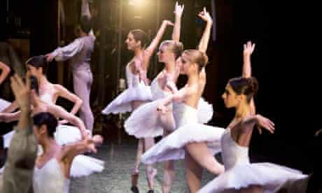 Tensions backstage…? The English National Ballet at the Royal Festival Hall in 2008
