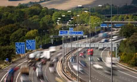 M25 Motorway Junction 7