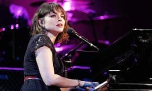 Singer Norah Jones in Los Angeles earlier this month.