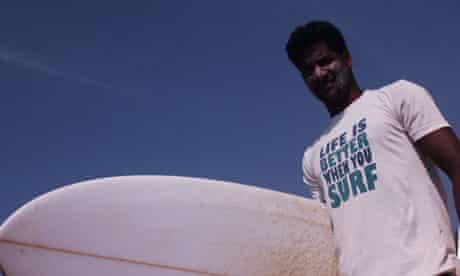 Indian surfer