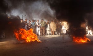 Afghan protesters