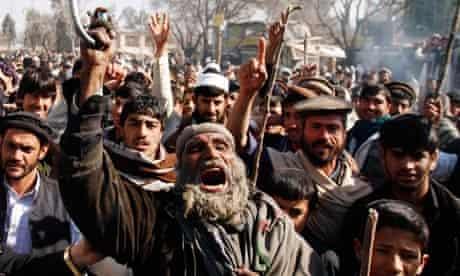 Afghanistan Qu'ran burning protests