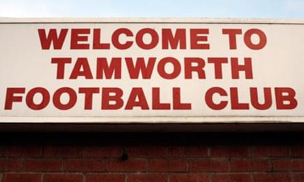 Tamworth Football Club.