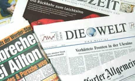 German newspapers women quota