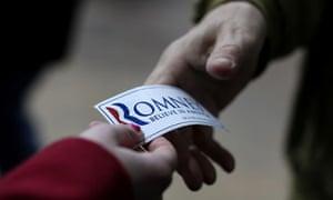 Mitt Romney Campaign sticker