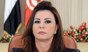 Leila Trabelsi, wife of former Tunisian president Zine El-Abidine Ben Ali