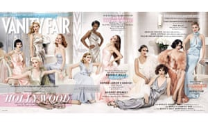 The March 2012 fold out cover of Vanity Fair magazine