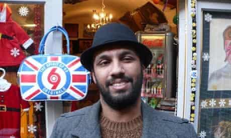 Manish Gajjar, record shop owner, Hastings