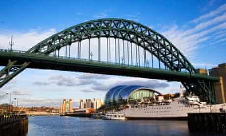 The Tyne Bridge in Newcastle